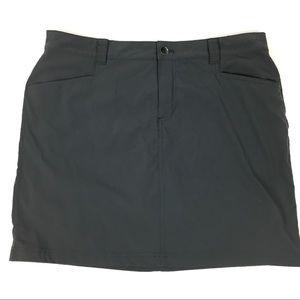 Eddie Bauer Women's Skirt Skort Athletic Gray 12